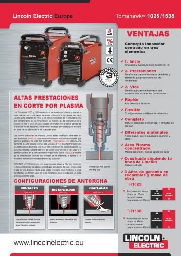 Plasma Lincoln Electric